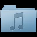 Music Folder Blue icon