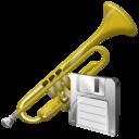 Save, Trumpet icon