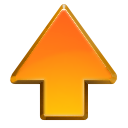 go, new, up icon