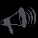 speaker, strike, loud, amplifier, megaphone, blogger, volume, sound icon