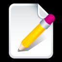 document,write,file icon