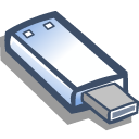 Removable usb icon