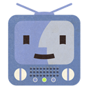 Finder, Flat, Terebi icon