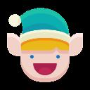 happy, emot, smile, emoji, elf icon