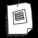 paper, picture, pic, image, photo, file, document icon