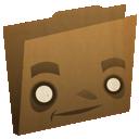 folder, brown icon