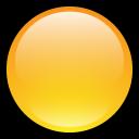 blank, button, empty, yellow icon