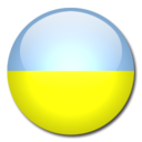 ukraine,flag,country icon