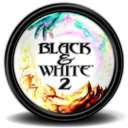 Black White 2 1 icon