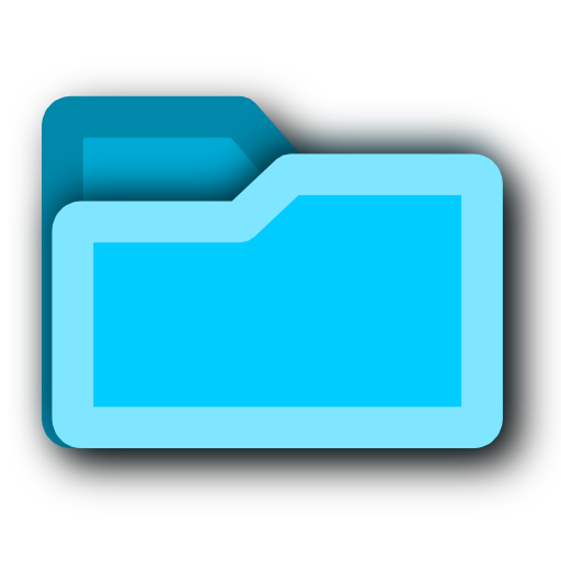 tip, hint, blue, energy, folder, light icon
