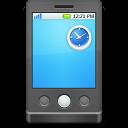 portable, devices, media icon
