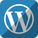 wordpress, press, word icon