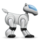dog, robotic, robot, pet icon