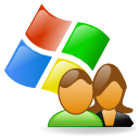 Apps windows users icon