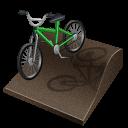 cycling, bmx, px icon