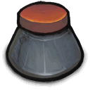 lableless, bottle, ink icon