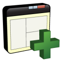 window, plus, add icon