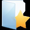Folder Blue Fav Alt icon