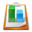 report, graph, statistics icon