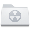 , Burnable, Folder, White icon