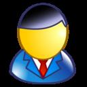 business man, user, executive, man icon