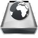 White Server icon