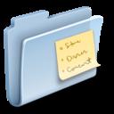 folder,badged,note icon