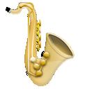 jazz, saxophone, instrument, music icon