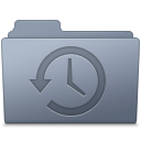 Backup Folder Graphite icon