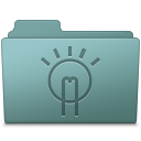 Folder, Idea, Willow icon