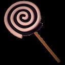 Black, Spiral icon
