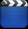 videos,blue icon