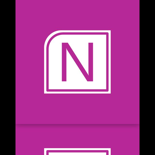 mirror, onenote, alt icon