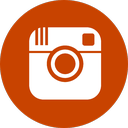 instagram logo, selfie, instagram, brown instagram icon