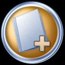 toolbar,folder,add icon