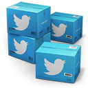 Twitter Shipping Box icon