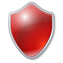 protect, red, guard, security, shield, protection, antivirus icon