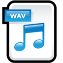 Audio, File, Wav icon