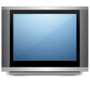 tv, television, screen, monitor, display, computer icon