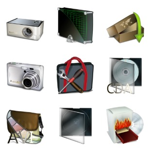 Bagg And Boxes icon sets preview