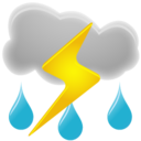 thunderstorm,weather icon