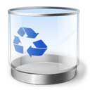 bin, recycle, empty icon