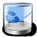 bin, recycle, empty icon