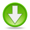 Down, Go, Gtk icon