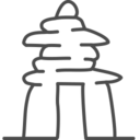 canada,inuksuk icon