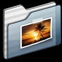 folder,graphite,picture icon