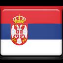 serbia, flag icon