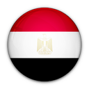 of, egypt, flag icon