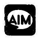Aim, Logo, Square icon