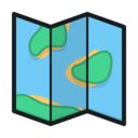 Folded Map icon